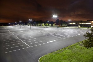 LED Parking Lot/Street Lights